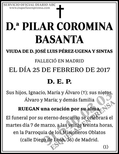 Pilar Coromina Basanta